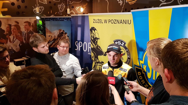 Mistrzowskie spotkanie z Bartkiem Zmarzlikiem w Novotel Poznań Centrum